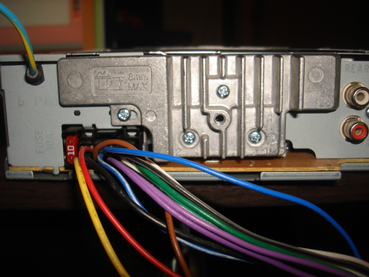 Connecting A Sony Car Radio With Your Own Hands Video Installation Audio Wiring Management However When You Turn The Key Electrical Circuit Opens For Fraction Of Second Which Is Sometimes Enough To Erase All Settings From